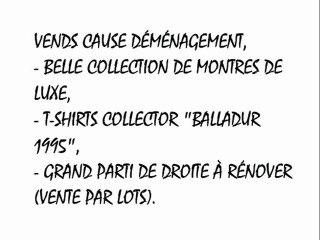 L'annonce de Sarkozy - Balto 6 mai