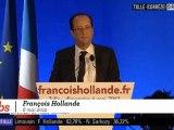 Le discours de Hollande à Tulle après sa victoire