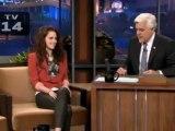 Kristen en The Tonight Show with Jay Leno - Subtitulado