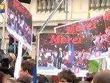 Solférino, ivre de bonheur, a célébré la victoire de François Hollande