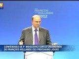 """Hollande rencontrera Merkel à Berlin """"juste après le 15 mai"""" (Moscovici)"""
