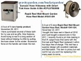 Suncast Hose Hideaway with Smart Trak Hose Guide & Bin #CPLSTB200B  vs Rapid reel#1041-GH (Lawn & Patio)