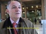 Conférence RIO+20 : la collaboration des entreprises interview Pierre-André de Chalendar conférence internationale  des nations unies sur le développement durable
