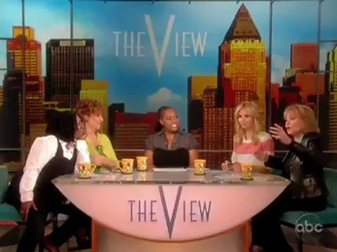 """Barbara Walters Asks Elisabeth Hasselbeck """"'Do You Like It Rough"""" On The View"""