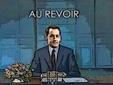 Sarkozy quitte la politique