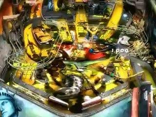 Table World War Hulk de Marvel Pinball : Avengers Chronicles