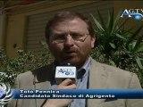 Intervista al candidato a sindaco di Agrigento Totò Pennica News AgrigentoTV