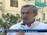 Agrigento, intervista al candidato sindaco Giuseppe Arnone News AgrigentoTV