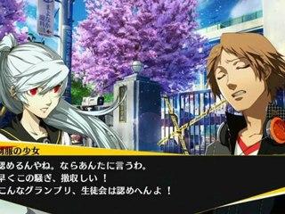 Yosuke Story Dialogue de Persona 4 Arena