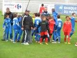 Séance de tirs aux buts entre ISSOIRE et l'AFCA en finale du tournoi U11 US MURAT le 05/05/2012