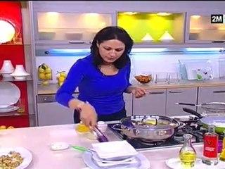 recette de choumicha 2012 tajine de poulet au aubergine