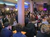 Rencontre de F. Hollande avec des jeunes à Amiens
