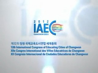 12th International Congress of Educating Cities of Changwon