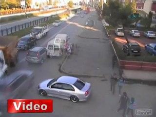 Rize'de Böyle Olur Trafik Kazası - VİDEO - www.olay53.com