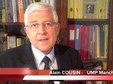 Législatives 2012 : Alain Cousin annonce sa candidature à Valognes