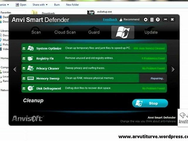 Anvi Smart Defender Free – Excellent anti-malware, Anti-trojan, anti-spyware, anti-botnet, anti-keylogger