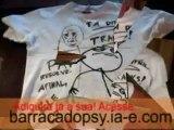 Camisas Paint - Escreva, desenhe, PERSONALIZE a sua própria camisa!