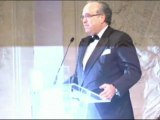 Soirée de charité de l'association AVEC, discours de David Khayat