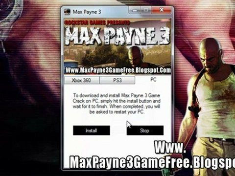 Max Payne 3 Game Crack Free Download Xbox 360 Ps3 Pc