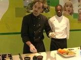 Cuisine : Recette de verrine de kiwi menthe et chocolat