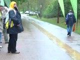 Championnats Nièvre cyclisme Urzy 2012 arrivée poussins
