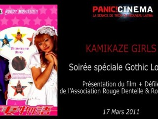 Panic Cinéma - KAMIKAZE GILRS - Spécial Gothic Lolita