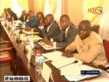 Fin de la réunion de la commission nationale des investisseurs