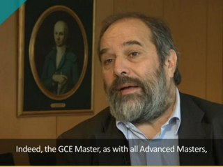 Roger Frank - Présentation du MS GCE