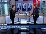 Benoist APPARU invité politique de Julien Arnaud - matinale LCI (10/05/12)