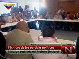 (VÍDEO) Técnicos de los partidos políticos iniciaron auditoría del registro electoral 08.05.2012