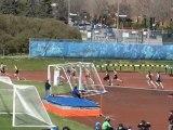 CLUB VAINQUEURS - Compétition athlétisme club fleur de lys - Course demi-fond centre Claude-Robillard Montréal 5 mai 2012