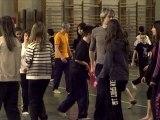 En amont des Moissons ! (reportage) - ateliers de préparation à la représentation de (1,2,3) fEU! (partez...)