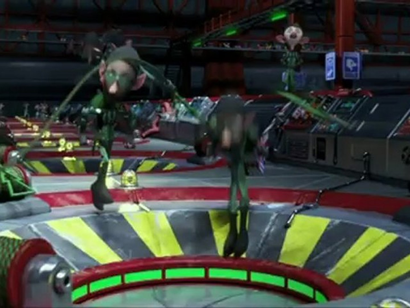 Arthur Christmas Clip Elf Delivery Video Dailymotion