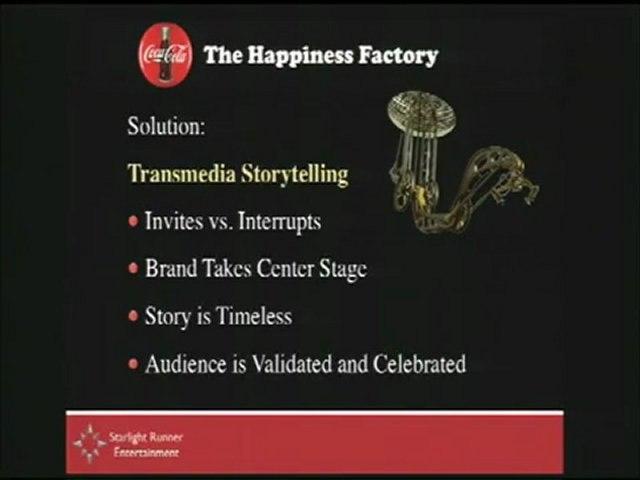 Coca-Cola - Happiness Factory's transmedia plateform - Case Study