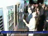 François Hollande a rendu hommage à François Mitterrand