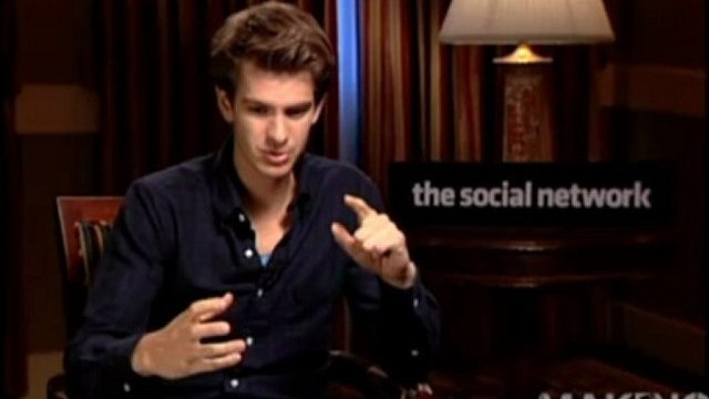Andrew Garfield's Exclusive Interview on Facebook and 'The Social Network'