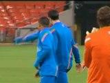 """Euro 2012 - Van Der Sar : """"Je garderais un œil sur Robin Van Persie"""""""