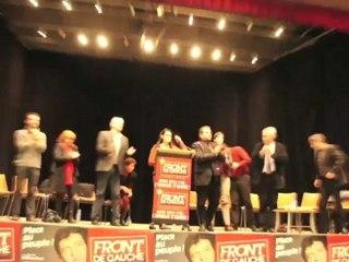 LEGISLATIVES 2012 - Présentation des candidats Front de Gauche