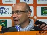 [L2-J37] Laval 0-2 Le Havre, réaction de C. Daury