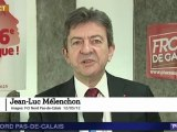 Mélenchon annonce sa candidature à Hénin Beaumont face à Marine Le Pen