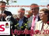 Législatives 2012 - Meurthe-et-Moselle - 6ème circonscription - 12 mai 2012 - Intervention de Julien Vaillant