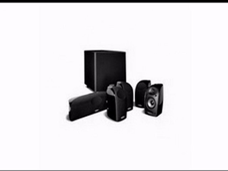 Set of Six, Black Polk Audio RM705 5.1 Home Theater System
