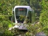 Citadis302 : Arrivée à la station Musée de Sèvres sur la ligne T2 du Val de Seine