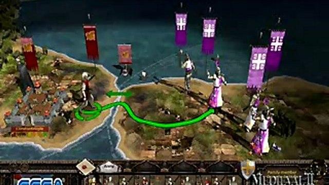 Medieval II: Total War Kingdoms - Medieval Total War II Kingdoms - Crusades Gameplay