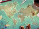 Shaun White Snowboarding - Game footage - Balance Board Controls