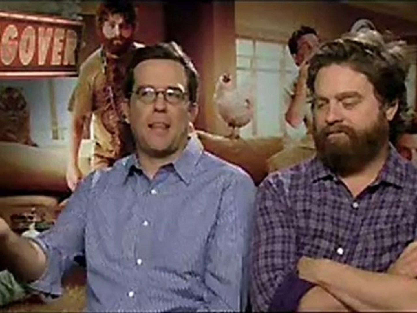 The Hangover - Exclusive Interview With Ed Helms And Zach Galifianakis