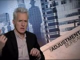 The Adjustment Bureau - Exclusive Interview With Matt Damon And John Slattery