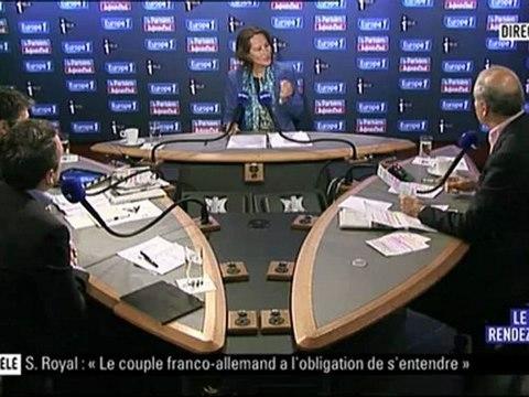 Ségolène Royal était l'invitée du Grand Rendez-vous Europe1, ITélé et Le Parisien -