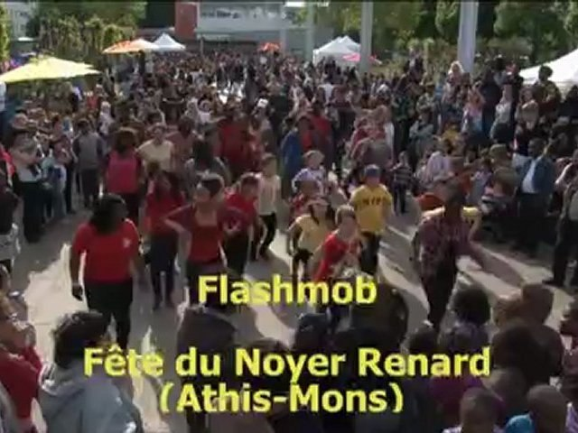 """Flashmob """"Ya Ka Danser"""" de Jessy-K à la fête du Noyer Renard (Athis-Mons)"""