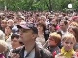 Une marche contre Vladimir Poutine à Moscou
